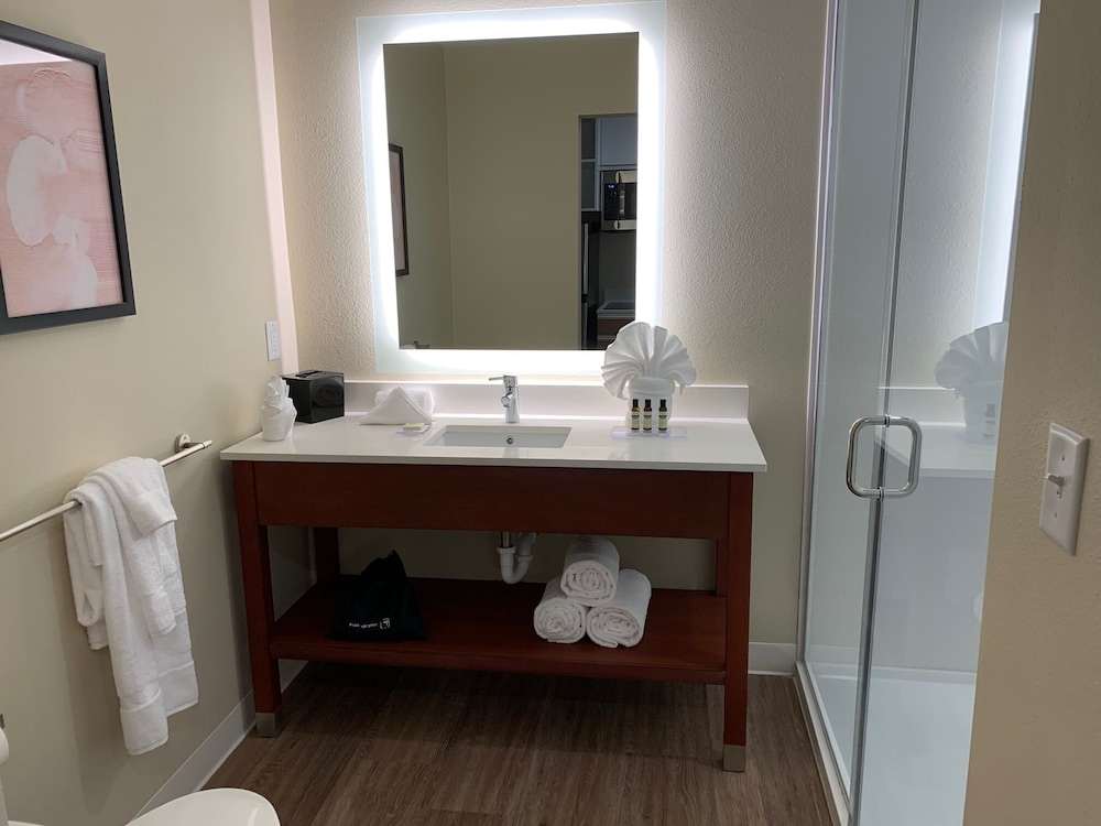 Bathroom, Hawthorn Suites by Wyndham Monahans