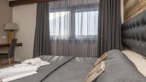 Coffres-forts dans les chambres, lits bébé (en supplément)