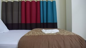 Premium bedding, down duvet, pillow top beds, individually decorated