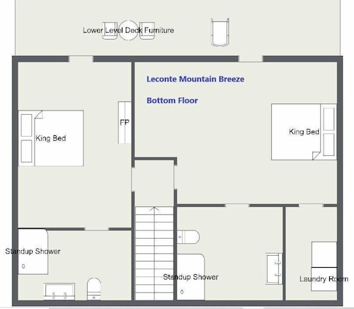 Floor plan, Awesome Mountain Views, Hot Tub, Free Attraction Tickets!!!