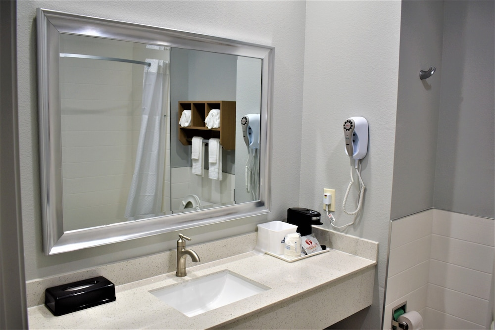 Bathroom Sink, Days Inn & Suites by Wyndham Downtown/University of Houston