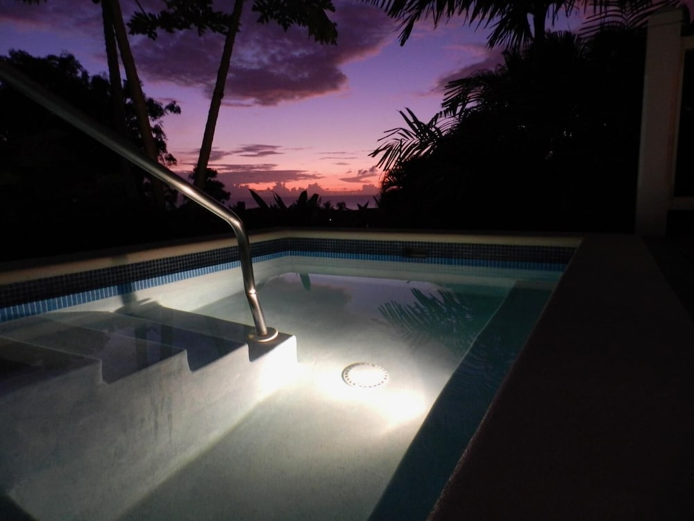 Pool, Stunning 2 Bedroom villa with Plunge Pool and Sea view