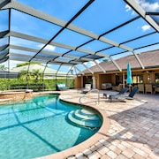 Paradise! Naples Vacation Home, Lely Resort, Private Pool, Pool & Golf View!