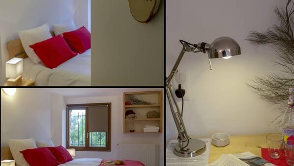 7 chambres, fer et planche à repasser, Wi-Fi, draps fournis