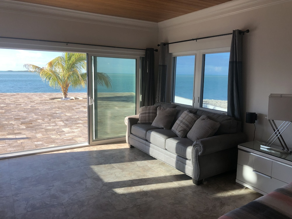 Living Room, NEW Listing. Oceanfront Mansion With Heated Infinity Pool