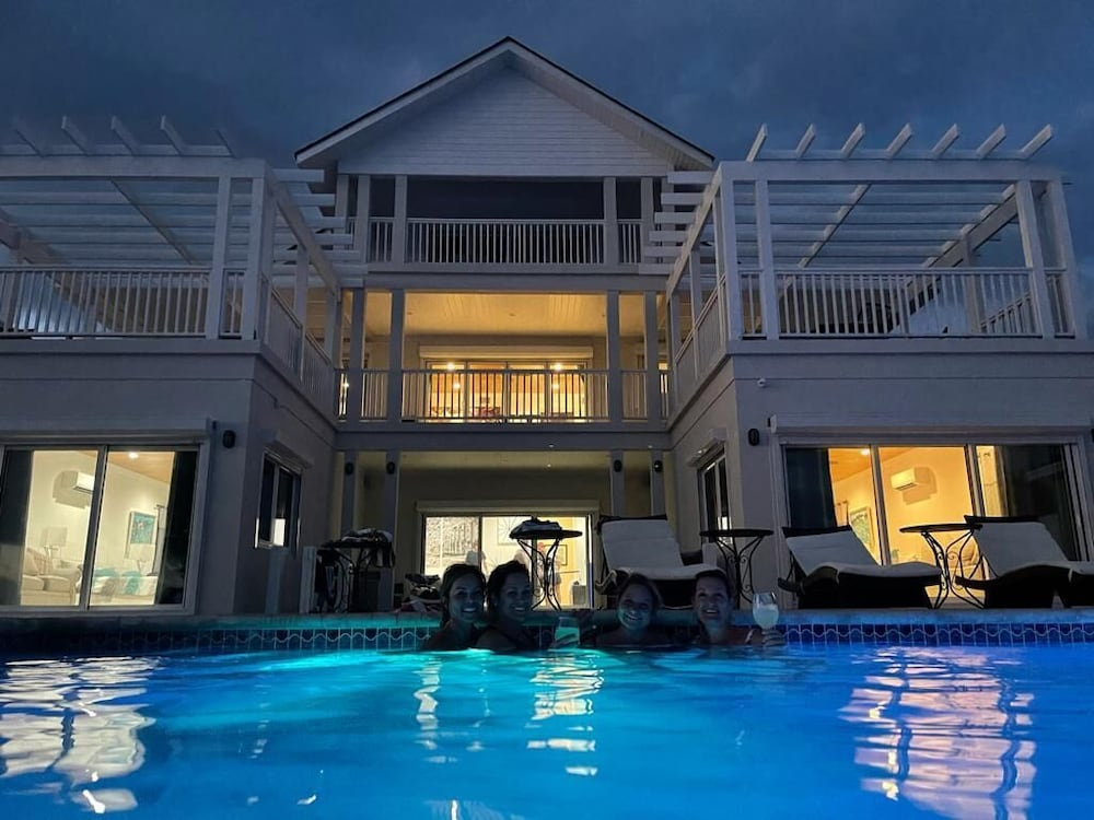 Pool, NEW Listing. Oceanfront Mansion With Heated Infinity Pool