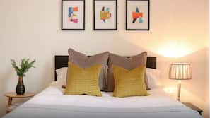 Individually furnished, linens