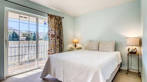 2 間臥室、熨斗/熨衫板、上網、床單