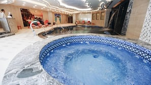 Bubbelpool inomhus