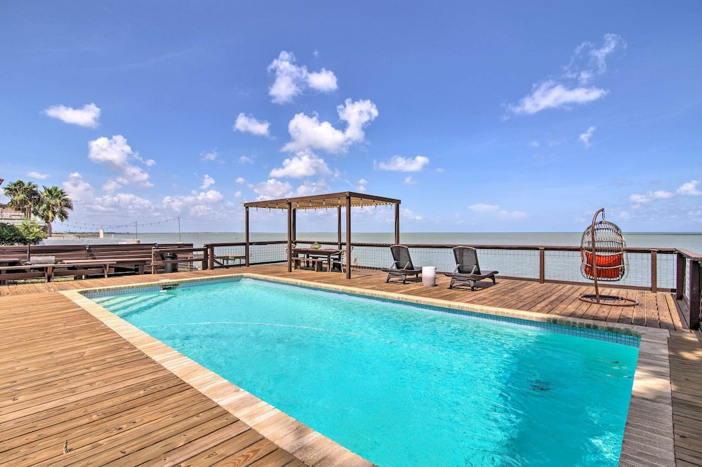 Pool, Waterfront Port Isabel Family Home w/ Pool & Pier!