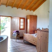Bungalow With one Bedroom in Carreteria, With Wonderful sea View and Furnished Garden - 9 km From the Beach