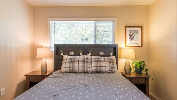 3 間臥室、Wi-Fi、床單