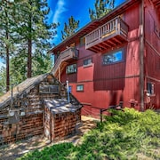 Mv49 Historical Miners Lake Tahoe Large Estate Steps to the Lake