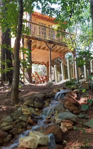 Property Grounds, Treasure Hunt Treehouse in Metro Atlanta