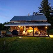 A Rustic Barn & In-law Shed - Cassic VT Beauty With a Ralph Lauren Touch!