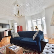 Beautiful Delightful 3BR Downtown Brunswick All King Beds