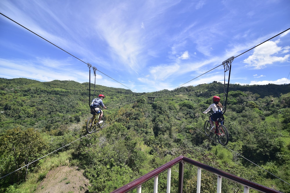 Ziplining, Cebu Safari and Adventure Park
