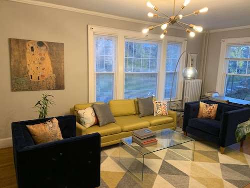 Luxurious Special mid Century Modern 1BR Next to Albany med
