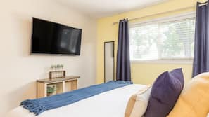 3 多间卧室、熨斗/熨衣板、免费 WiFi、床单