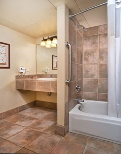Bathroom, Take the Enchanted Circle Tour !