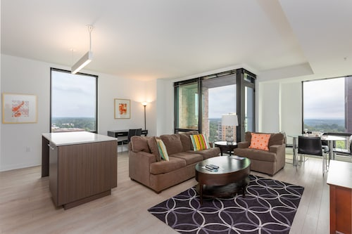 Modern 2 Bedroom Apartment in Reston Town Center + Amenities by GLS