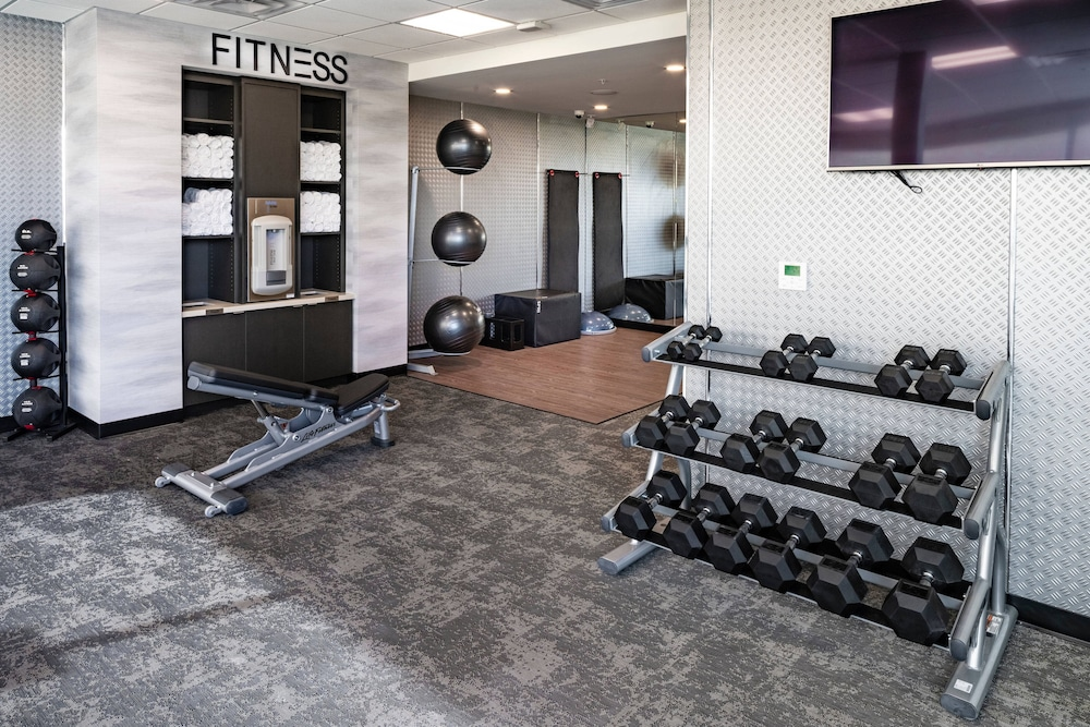 Fitness Facility, Fairfield Inn & Suites by Marriott Las Vegas Northwest