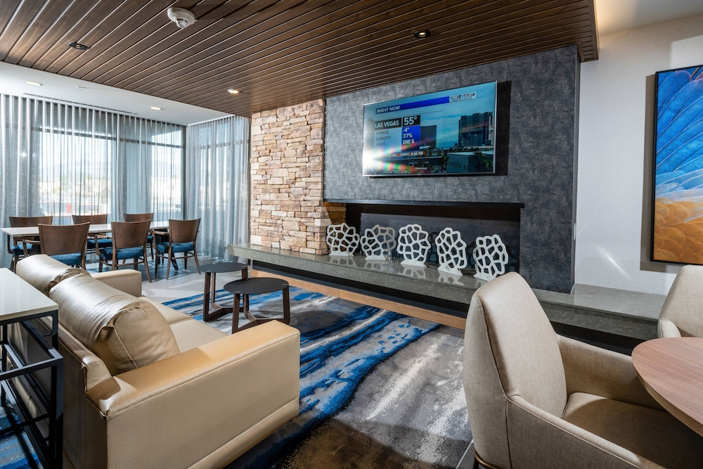 Lobby, Fairfield Inn & Suites by Marriott Las Vegas Northwest
