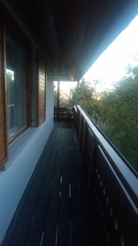 Balcony, Peace and Quiet in a Cottage in Sopron