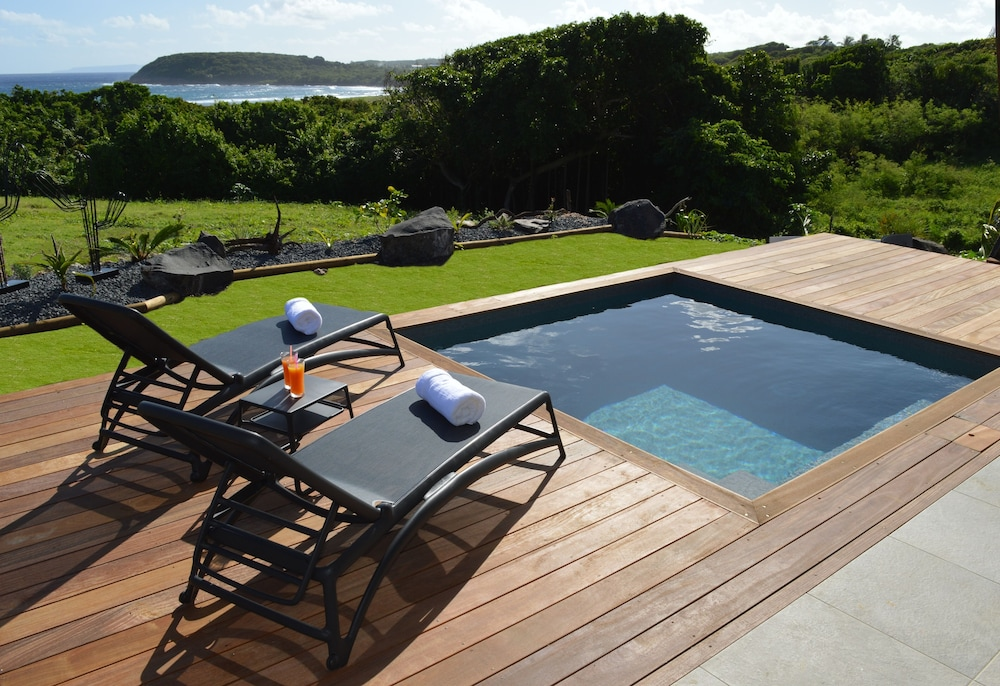 Pool, Villa Corail Blanc 4 , a Dream View at Domaine Bonheur Indigo!