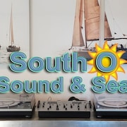 Vinyl Records and Salty Waves by the Beach, Food, and Shops in South Oceanside