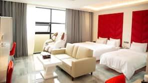 암막 커튼, 방음 설비, 무료 WiFi, 침대 시트