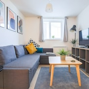Next Level Apartments, Scandi Style One Bed @ Rectory Court