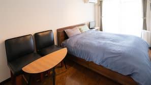 1 間臥室、上網、床單