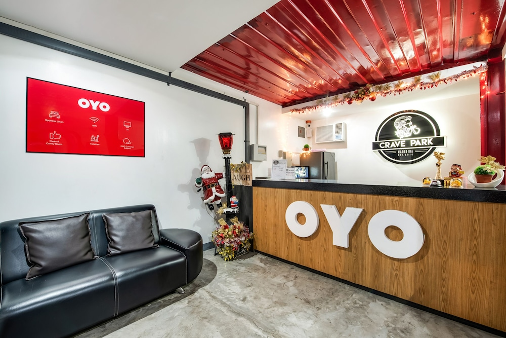 Reception, OYO 462 Crave Park