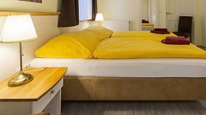 Schallisolierte Zimmer, kostenlose Babybetten, Zustellbetten