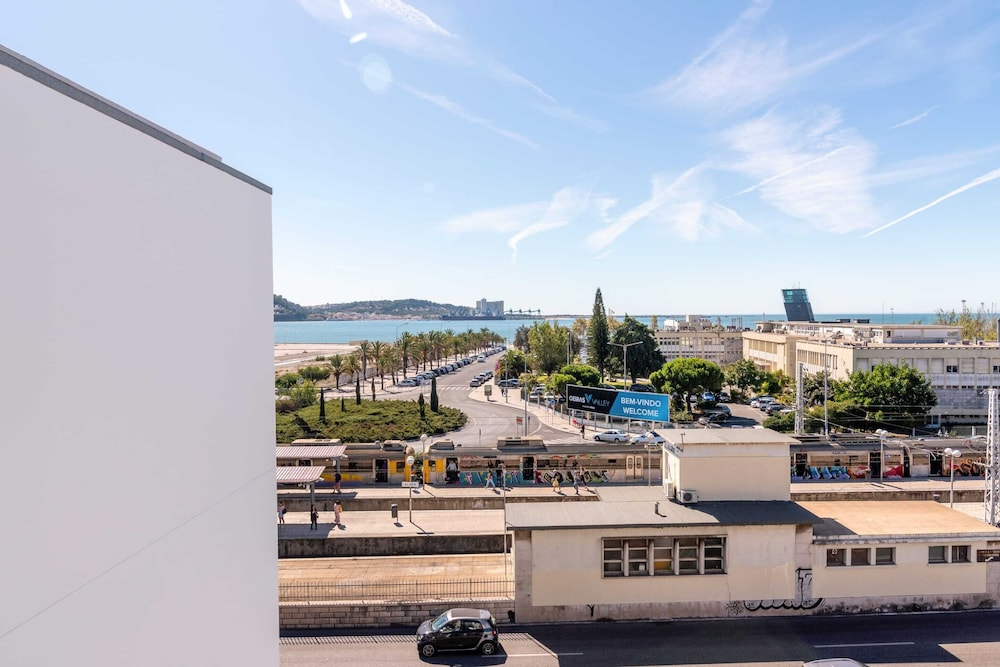 Exterior, Gorgeous Apartment in Alges With Stunning Rooftop Pool