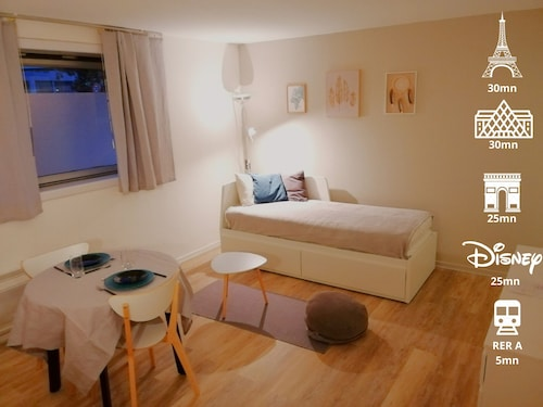 ♥bel Appartement Cosy Entre Paris et Disney♥