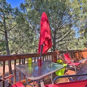 Tonto National Forest Retreat w/ Deck & Fire Pit!
