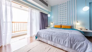 In-room safe, blackout curtains, iron/ironing board, free WiFi