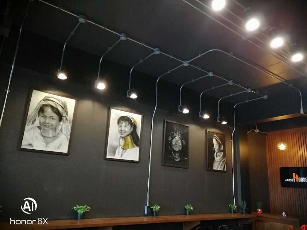 Interior, Jaidee Cafe & Hostel Chiangrai