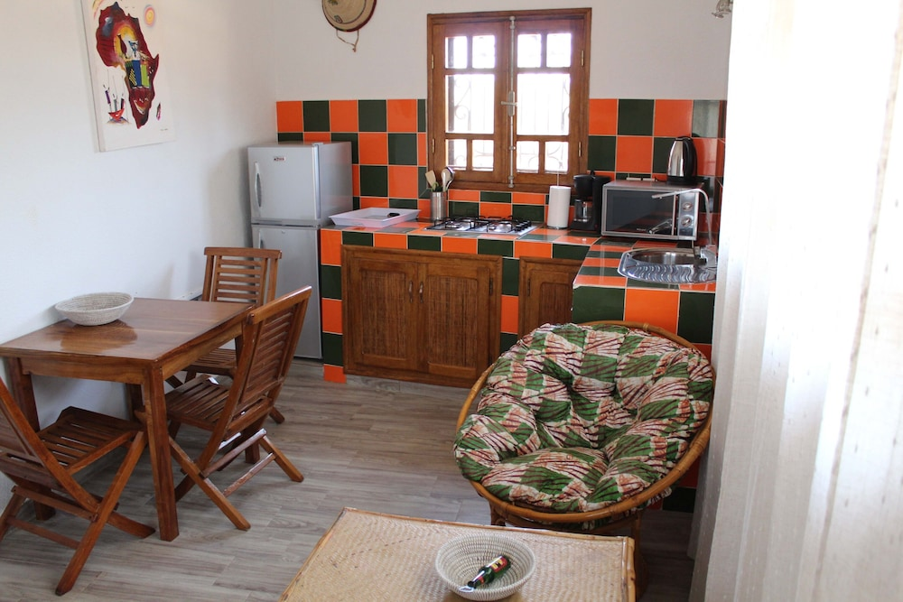 Private Kitchen, Apartment in Small Property With Pool