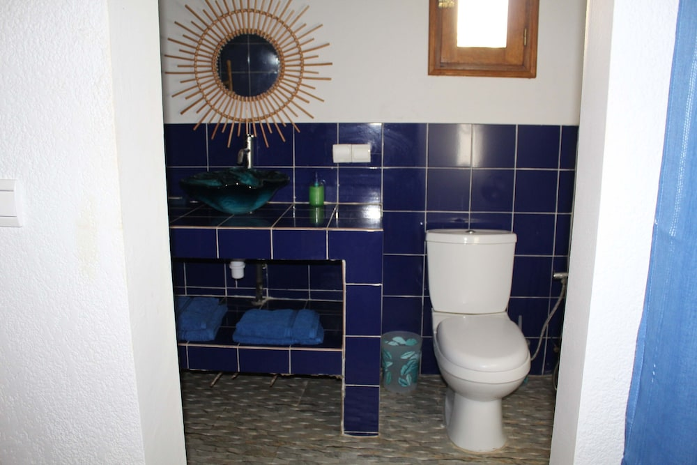 Bathroom, Apartment in Small Property With Pool
