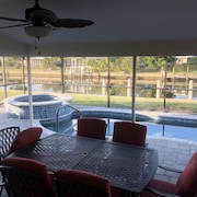 Waterfront 3/2 in Beautiful Punta Gorda Isles Available for This Season!