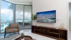 Fernseher mit Kabel-/Satellitenempfang