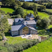 A Recently Converted Barn That Sits High Above the Beautiful Conwy Valley