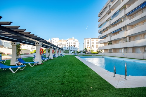 Directly in Puerto Banus Beautiful Apartment with Swimming Pool