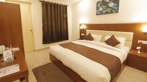 Memory-foam beds, soundproofing, iron/ironing board, free WiFi