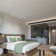 GreenTree Inn Ningbo Beilun District Meishan Beach Business Hotel