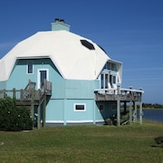 Dome Home on Intercoastal Waterway