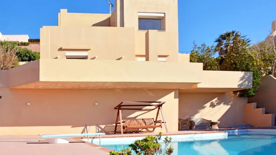 Seaview Villa with pool, Spa tub and Barbecue